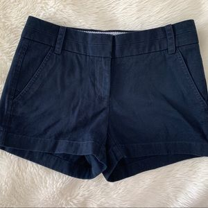 Jcrew Navy Chino Shorts